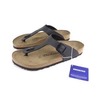 Birkenstock Gizeh Sandals, Black, Birko-Flor